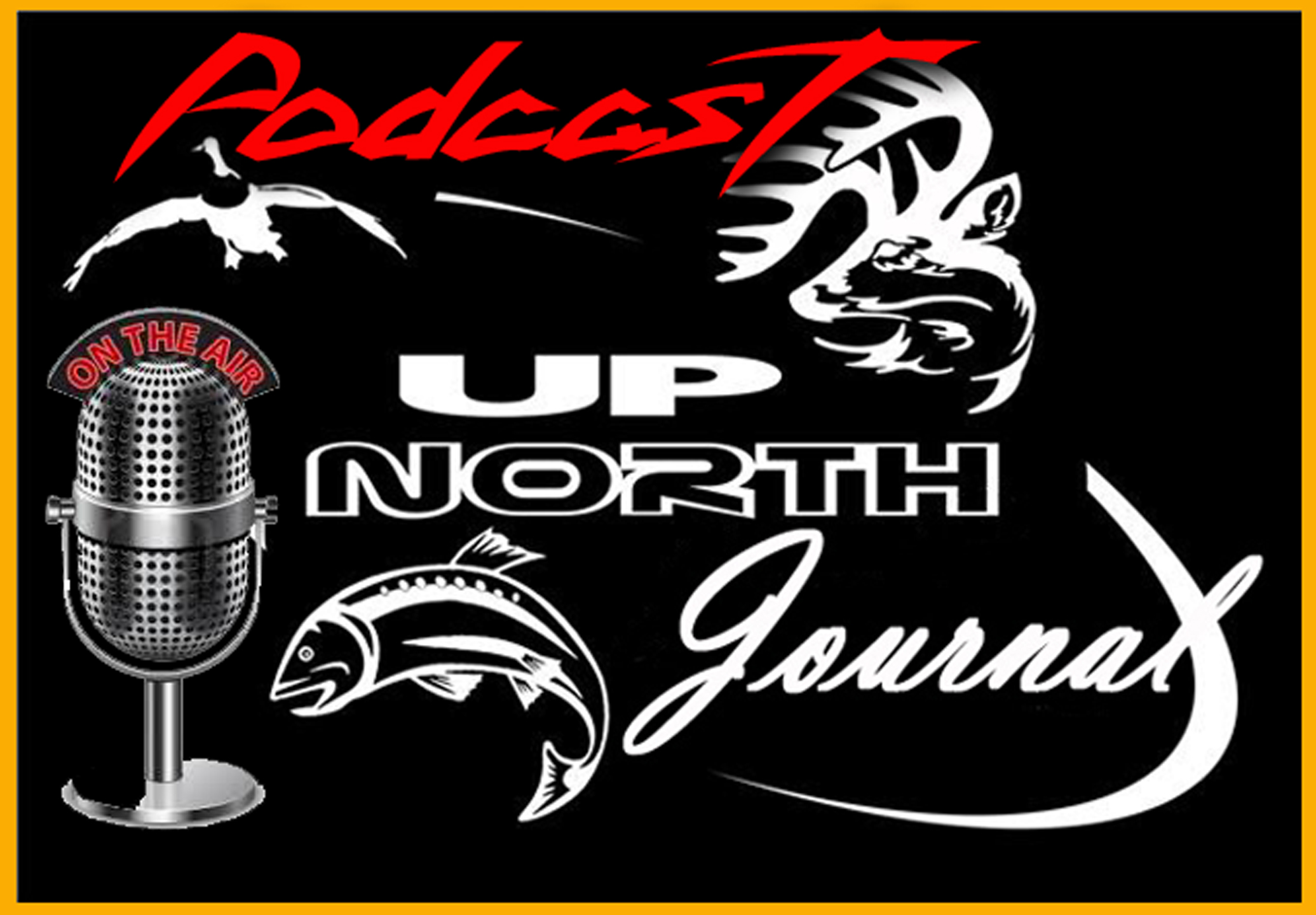 Up North Journal Podcast show art