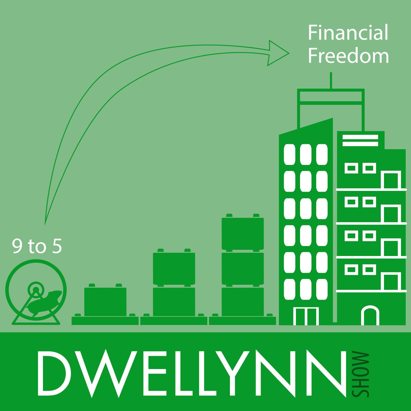Dwellynn Show - Financial Freedom through Real Estate Investing show art