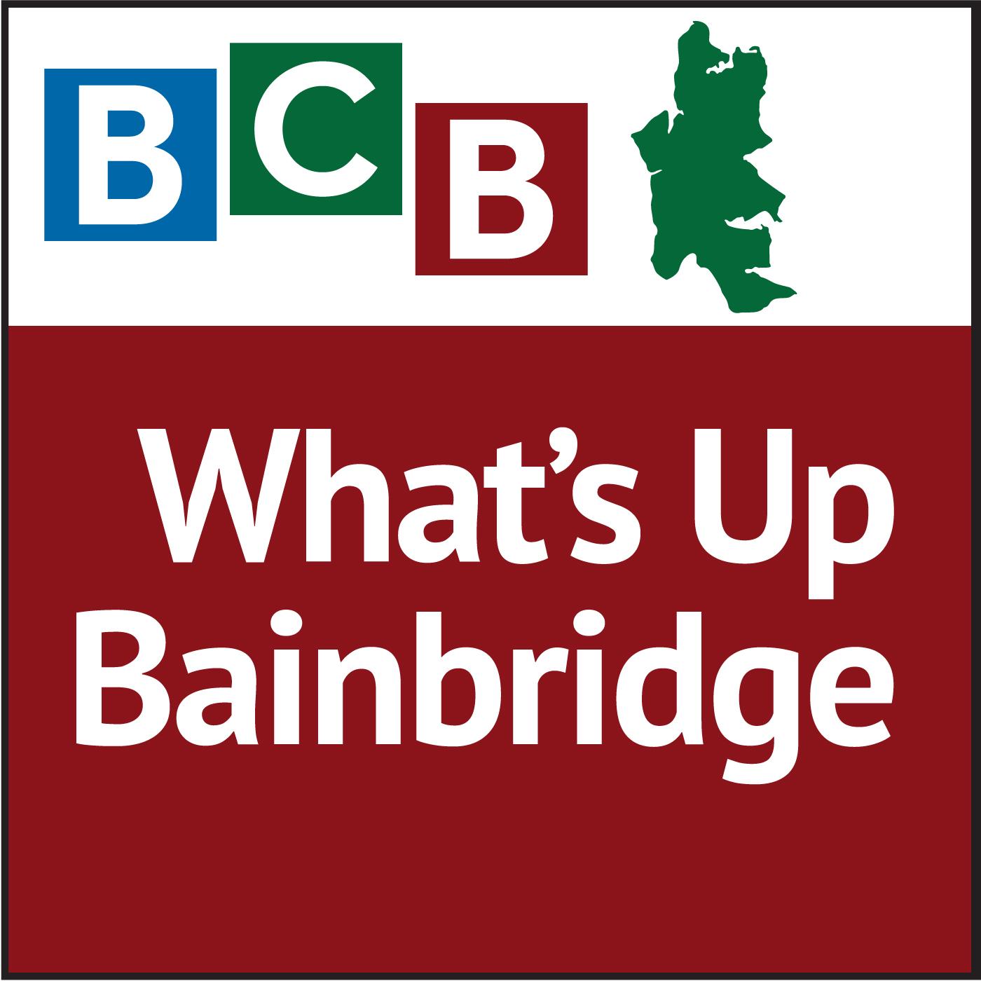 What's Up Bainbridge show art