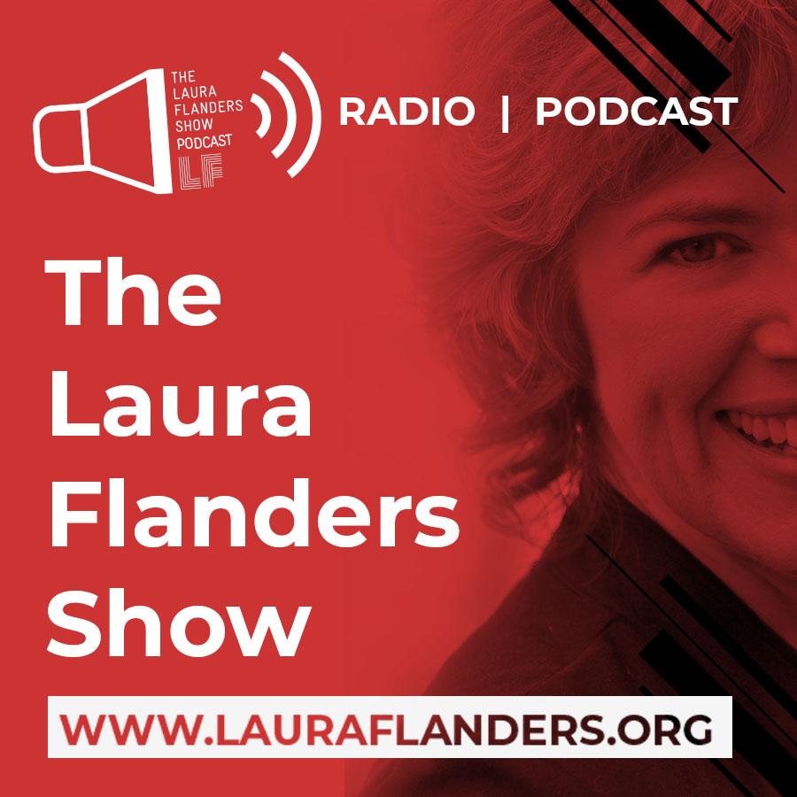 The Laura Flanders Show show art