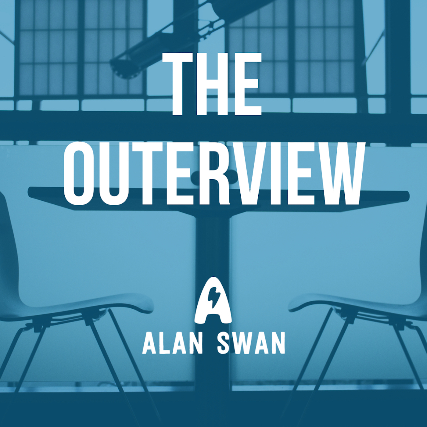 The Outerview with Alan Swan logo
