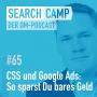 Artwork for CSS und Google Ads: So sparst Du bares Geld [Search Camp Episode 65]