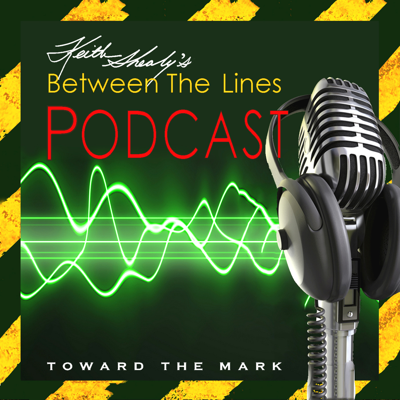 KeithShealy'sBetweenTheLines podcast logo