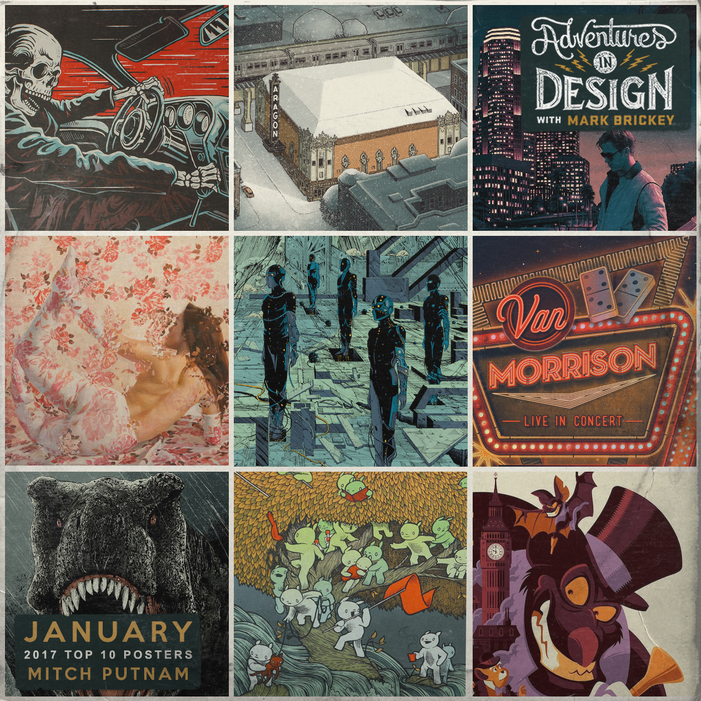 531 - January Poster Countdown with Mitch Putnam
