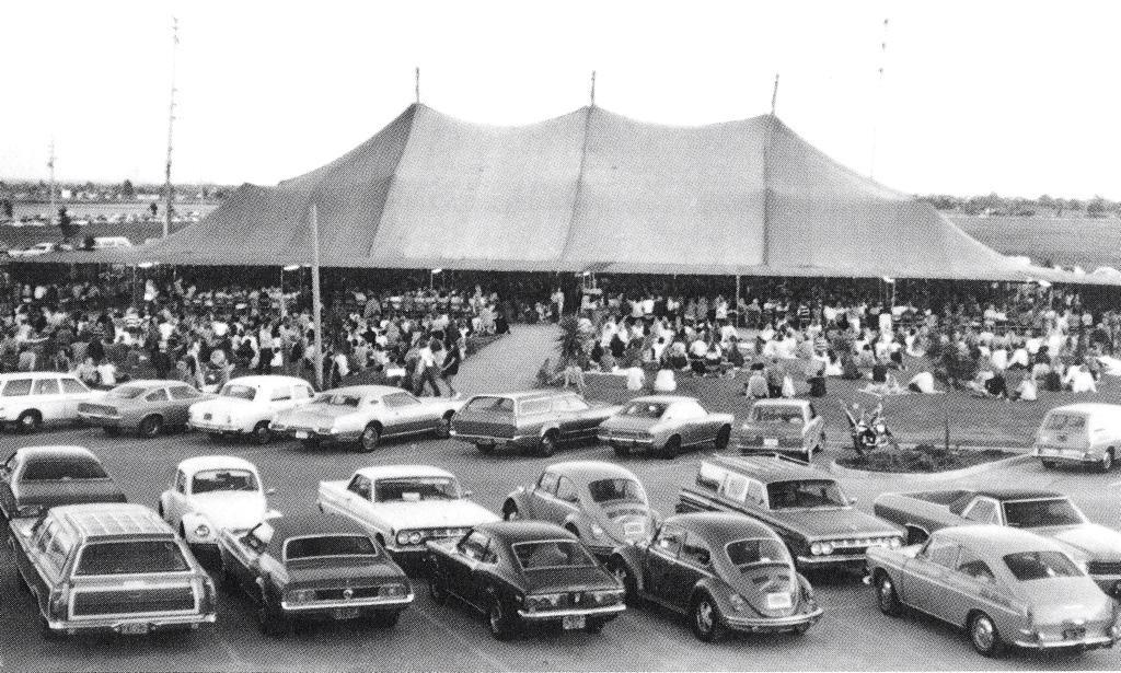 The Calvary Chapel tent circa 1973