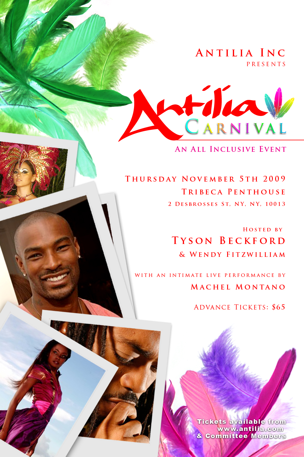 Antilla Carnival Promo Mix (Nov 5th 2009 NYC) Soca House Fusion & Hip Hop