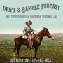 Artwork for Drift and Ramble Podcast Episode 13 Ben Thompson