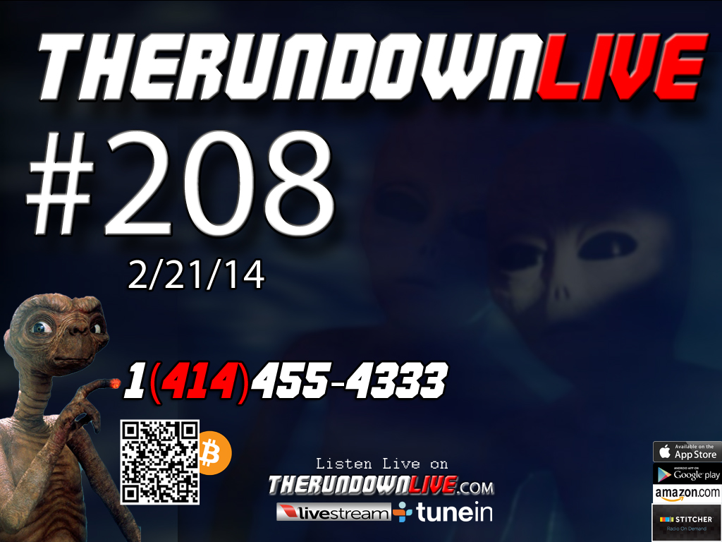 The Rundown Live #208 Open Lines (DHS Ammo,Tango Project,Secret Societies)