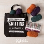 Artwork for Episode 289: Jet Lag and Swag: Travel Knitting and New Notions