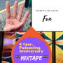 Artwork for 4 Year Podcasting Anniversary Mixtape