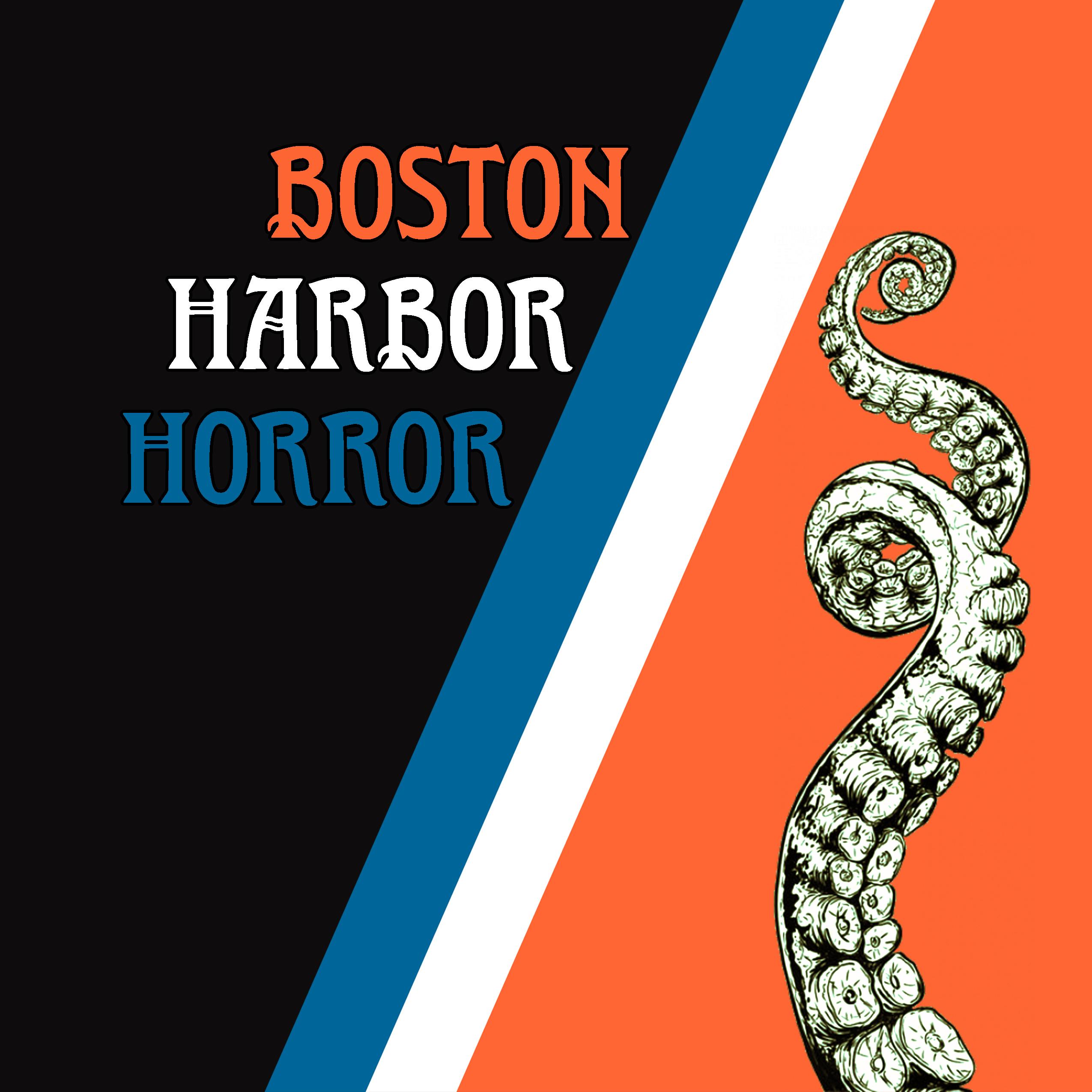 Boston Harbor Horror show art