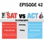 Artwork for YCBK 42: Differences Between the ACT and SAT