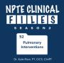 Artwork for S02 Episode 52 - Pulmonary Interventions
