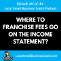Artwork for Where to Franchise Fees Go on the Income Statement?