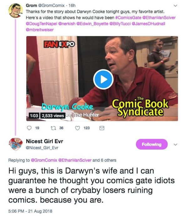 and work the Comic Book
