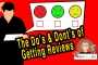 Artwork for Want Customer Reviews? The Do's & Don'ts - Episode 1