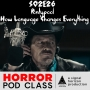 Artwork for S02E26- Pontypool and Language