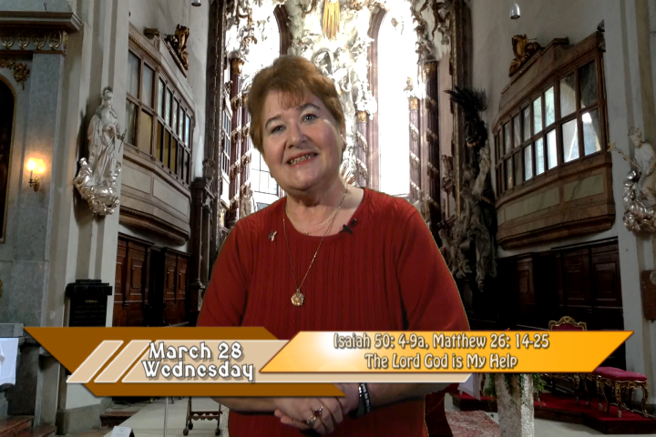 """Artwork for iGod Today with Anne McCarthy;  Today's Topic: """"See, the Lord GOD is my help; who will prove me wrong?"""""""