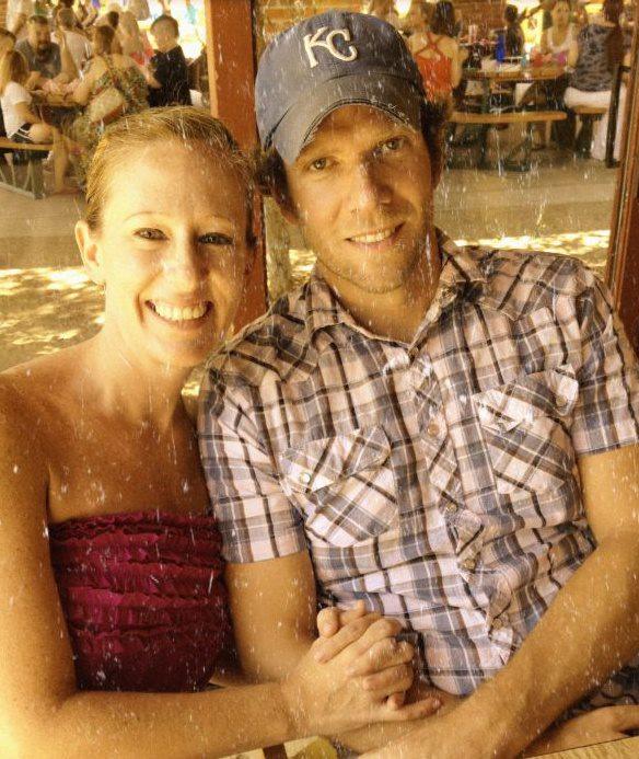 Charles and Heidi  June 15, 2012