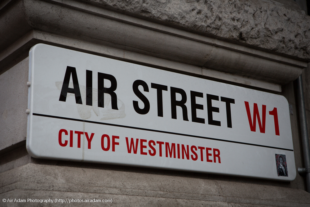 Air Street, Westminster