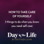 Artwork for MINI-SODE | How To Take Care of Yourself