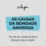 Artwork for As causas da bondade amorosa - Fábio Rodrigues