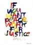 Artwork for FBP 295 - If You Want Peace, Work for Justice