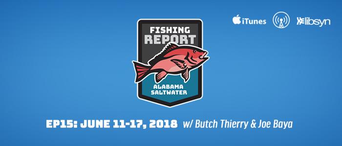 Alabama Saltwater Fishing Report - Ep15 - Pier - shore - saltwater - bluewater fishing