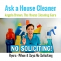 Artwork for No Soliciting - Where Do You Put House Cleaning Flyers?