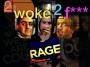 """Artwork for """"2 WOKE 2 F"""" 002"""