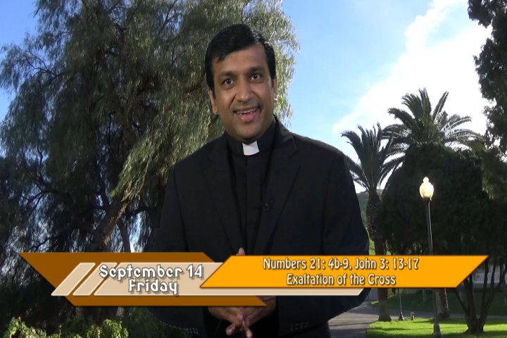 Artwork for iGod Today with Fr. Biju Thomas, SVD;  Today's topic:  Exaltation of the Holy Cross