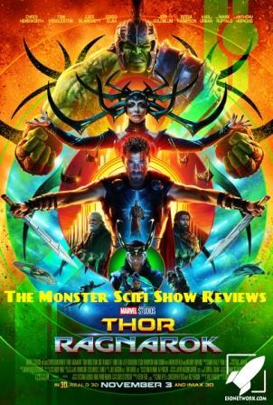 Artwork for The Monster Scifi Show Podcast - Thor Ragnarok