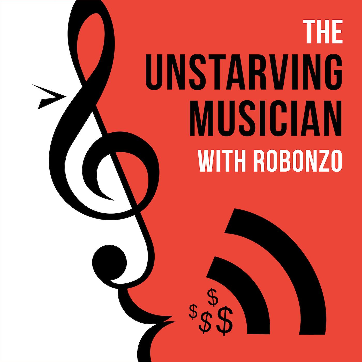 The Unstarving Musician show art