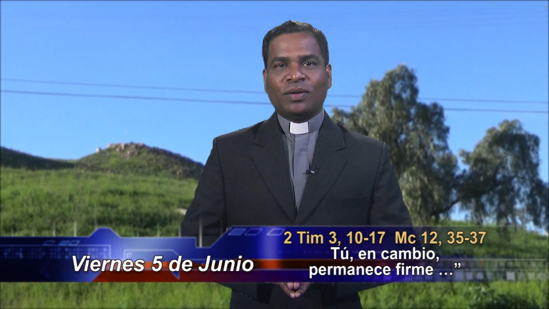 """Artwork for Dios te Habla con Fr. Deebar Yonas, SVD; Tema de hoy:   """"Tú, en cambio, permanece firme …"""""""