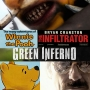 Artwork for Week 42: (The Green Inferno (2013), The Infiltrator (2016), The Many Adventures of Winnie the Pooh (1977))