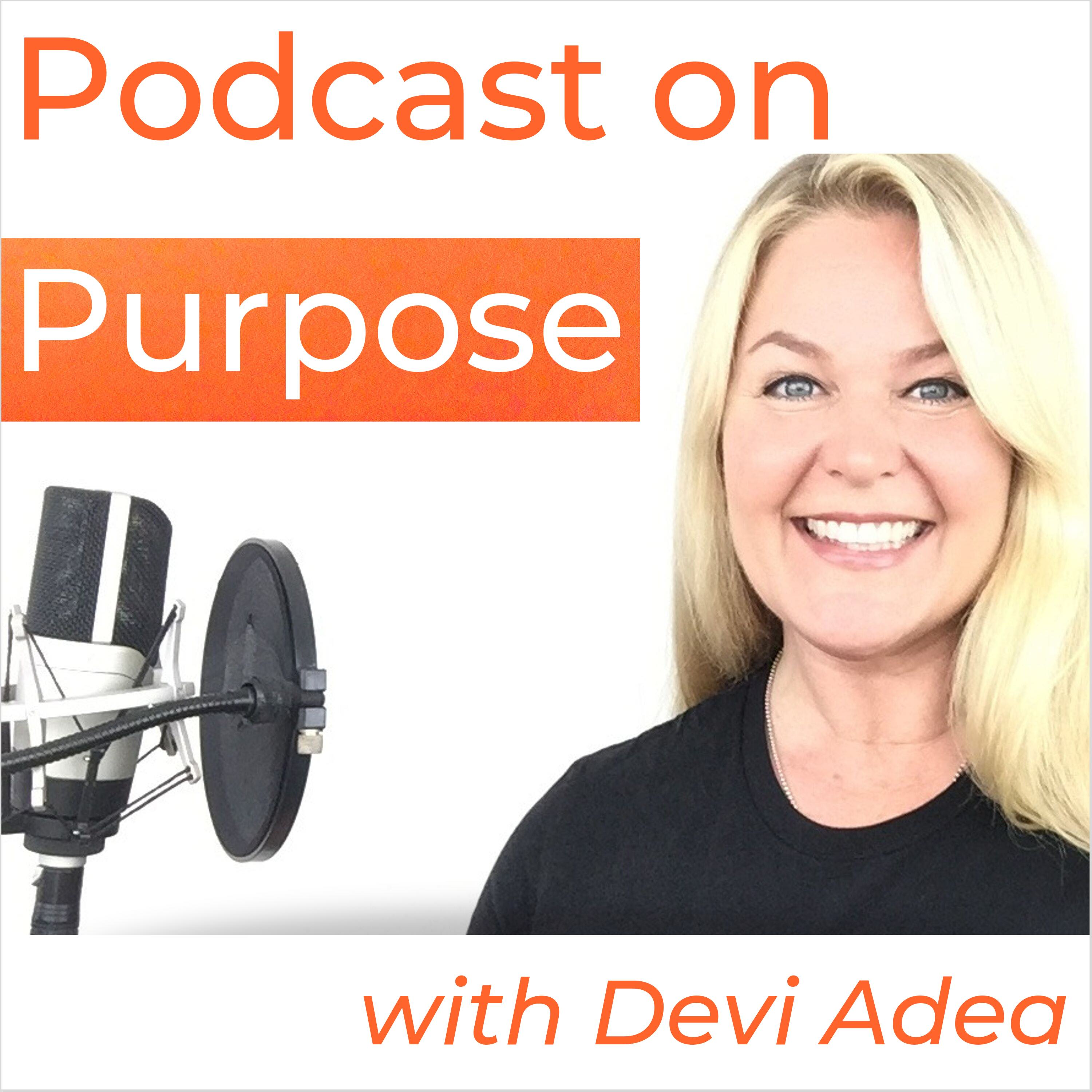 Podcast on Purpose show art