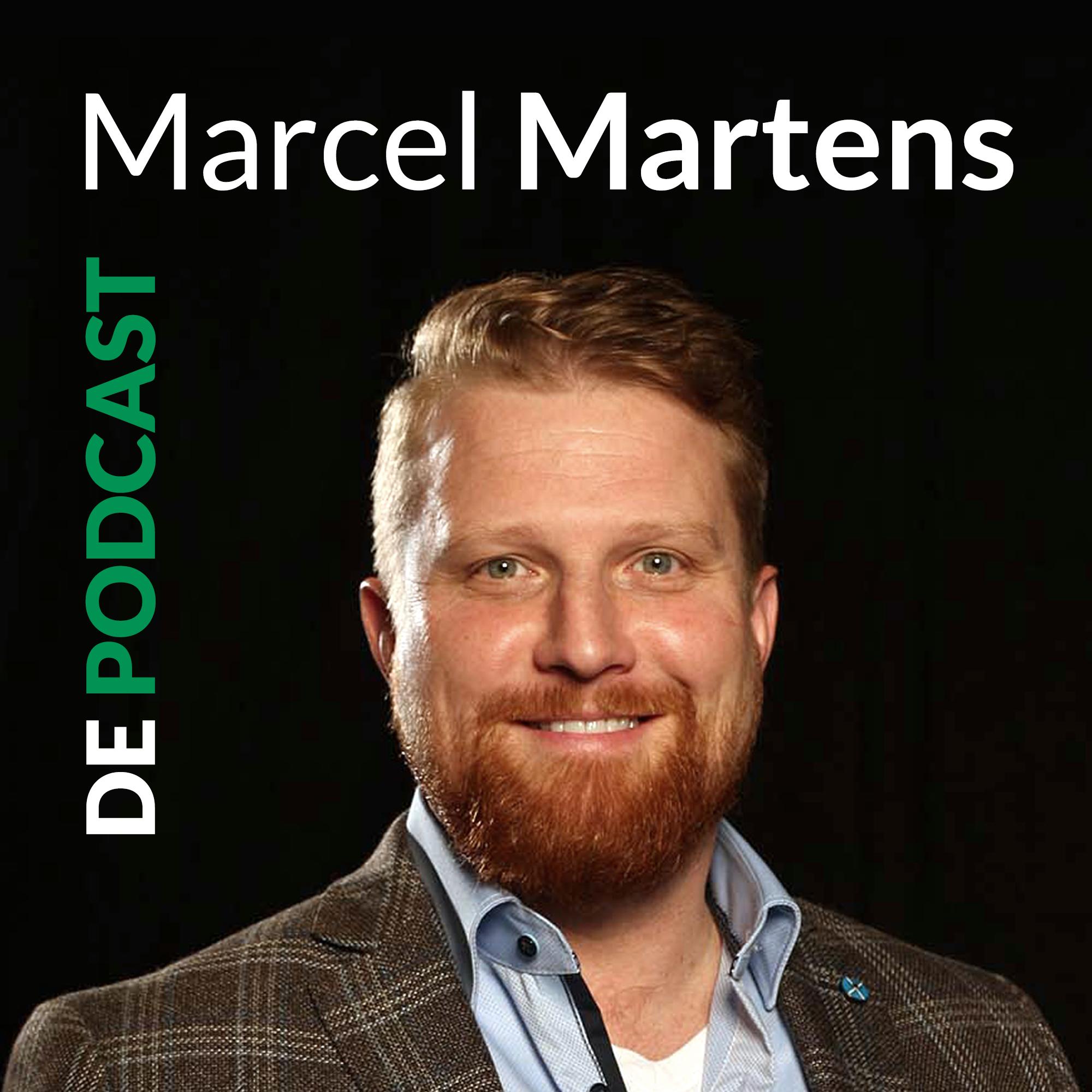 Marcel Martens | De Podcast show art