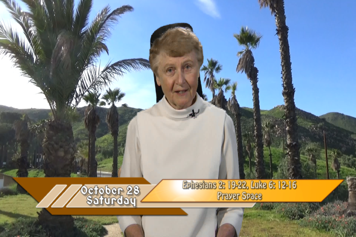 Artwork for iGod Today with Sr. Jeanne Harris, OP.  Today's topic:   Prayer Space