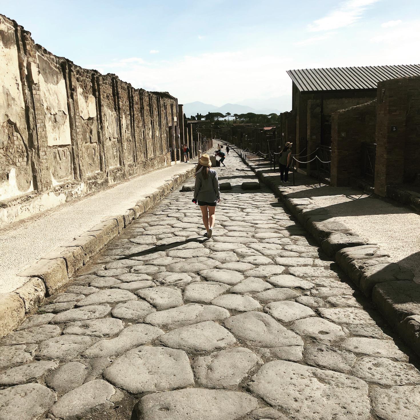 Bittersweet Moment #75: Exploring Pompeii