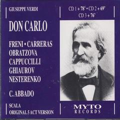 Don Carlo from 1977 La Scala Part One