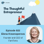 Artwork for Ep 022 - Balancing Business and Family with Elena Krasnoperova of FamTerra