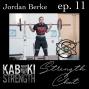 Artwork for Strength Chat #11: Jordan Berke of Squats and Science