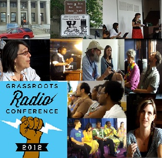 Grass Roots Radio Conference 2012- A Taste