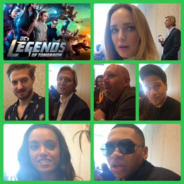 Episode 705 - SDCC: Legends of Tomorrow w/ Arthur Darville/Maisie Richardson-Sellers/Caity Lotz/Franz Drameh/Nick Zano/Producer Marc Guggenheim/Producer Phil Klemmer!