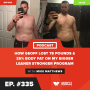 Artwork for How Geoff Lost 79 Pounds & 25% Body Fat on my Bigger Leaner Stronger Program