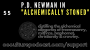 """Artwork for 55. P.D. Newman in """"Alchemically Stoned"""" // Distilling the Alchemical Allegories of Freemasonry, Mithras, Baphomet, Christianity & Crowley"""