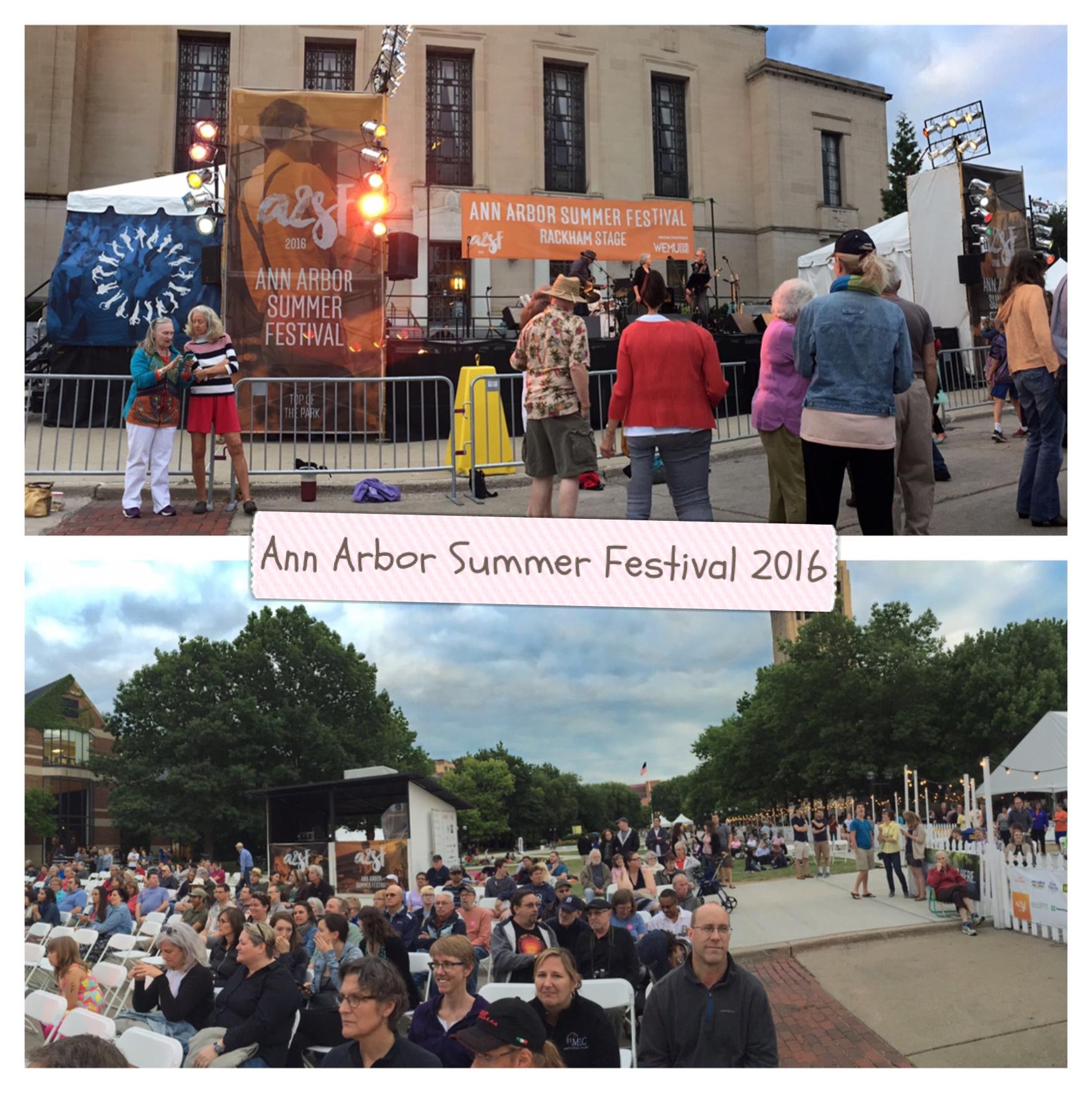 Ann Arbor Summer Festival 2016