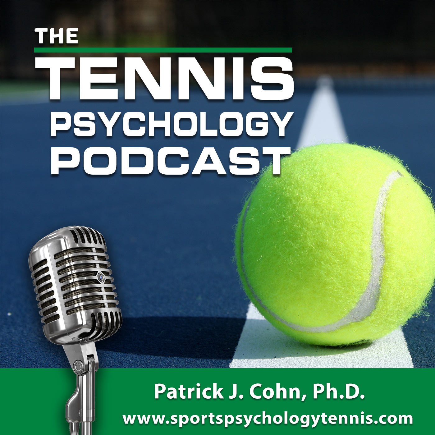 Tennis Psychology Podcast show art