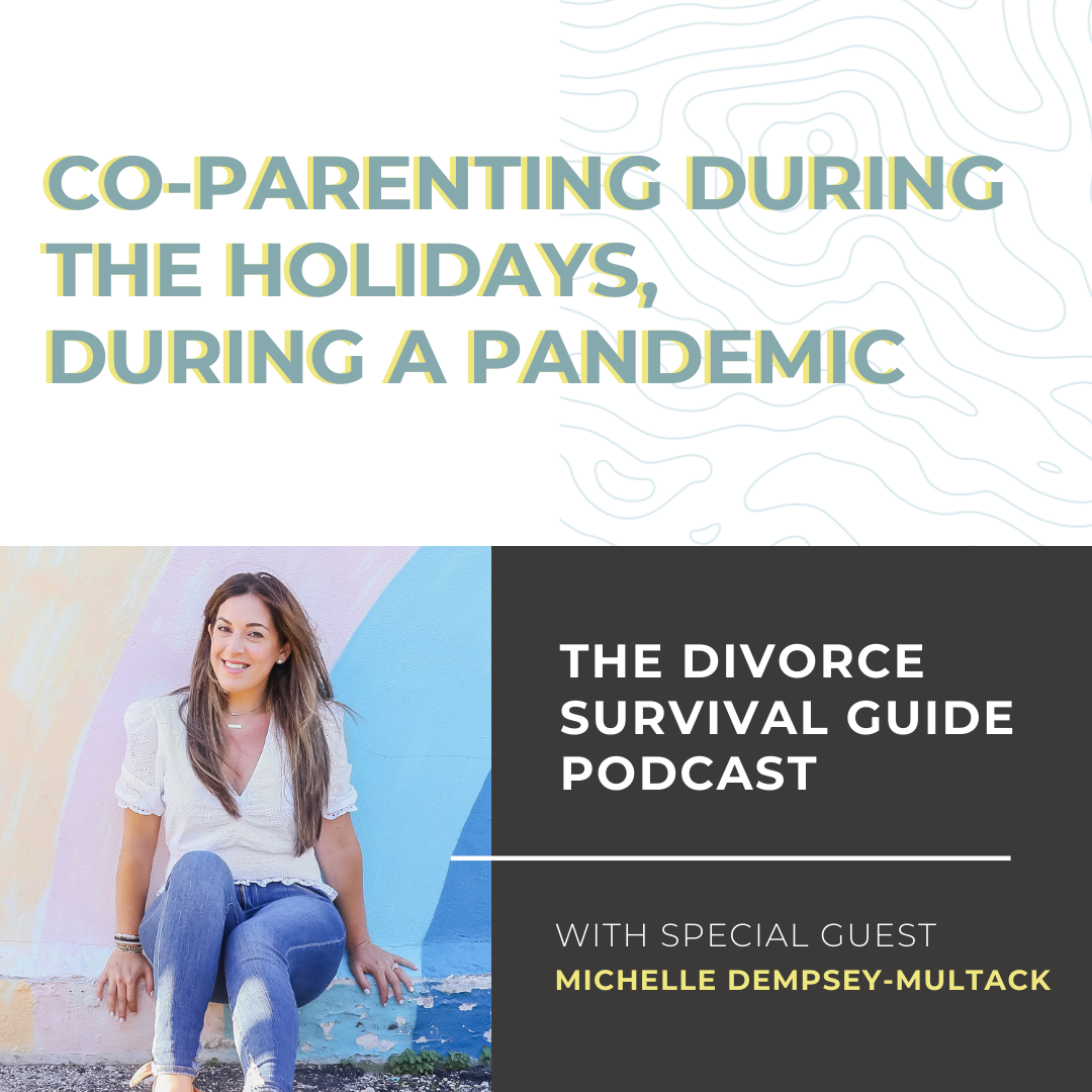 The Divorce Survival Guide Podcast - Co-parenting During the Holidays, During a Pandemic with Michelle Dempsey-Multack