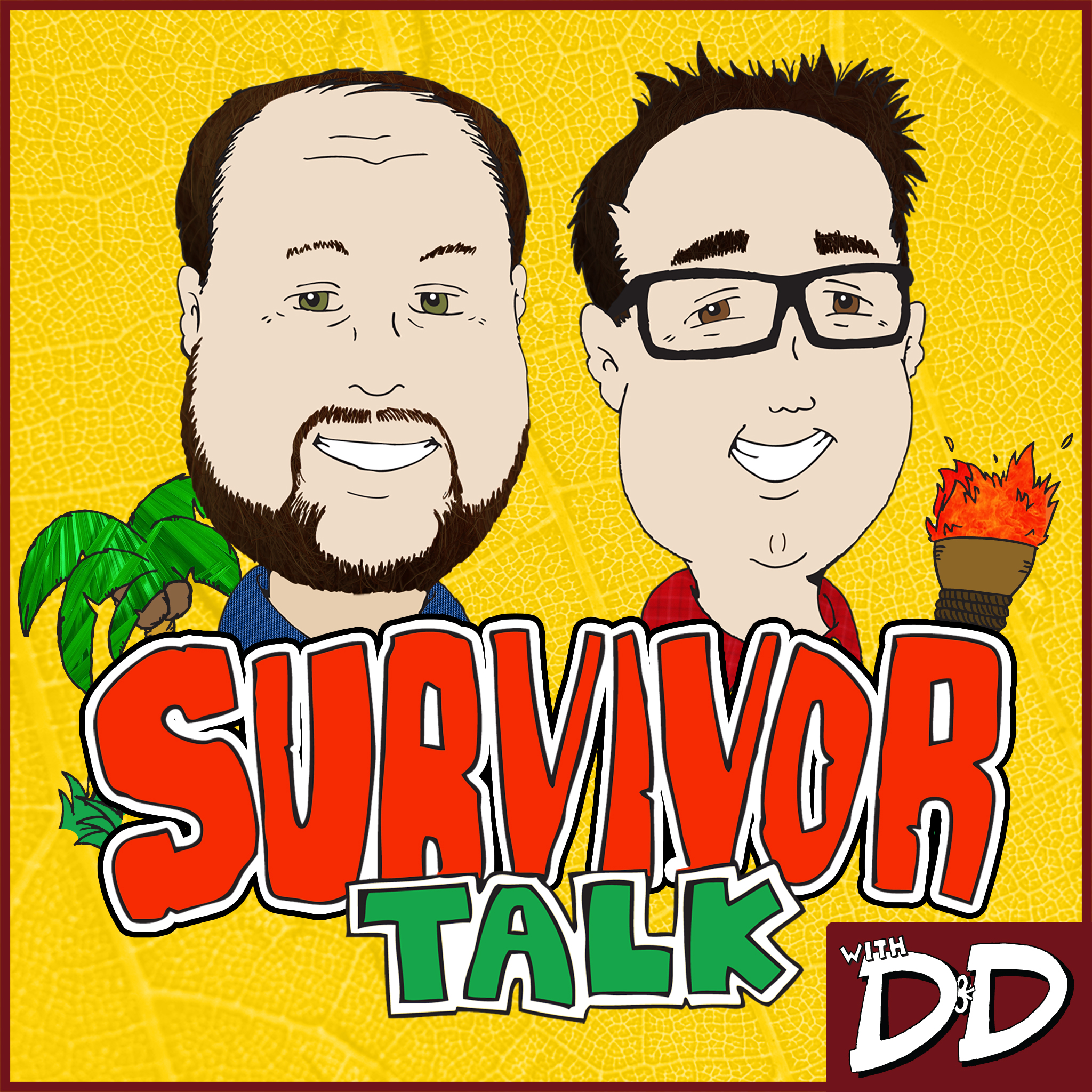 Survivor Talk with D&D logo